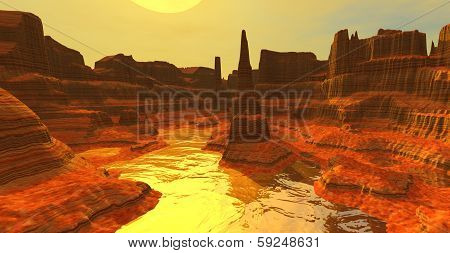 Yellow Canyon