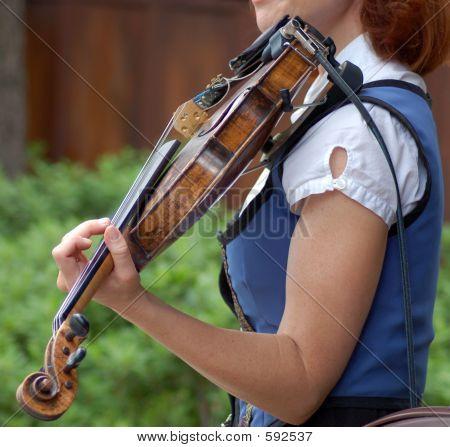 Woman Violin