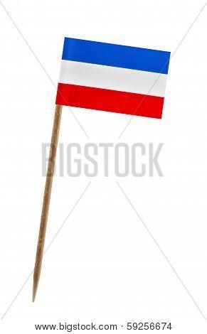 Flag Of Yugoslavian Fed. Rep.
