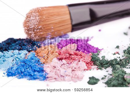 Crumbled Eyeshadows