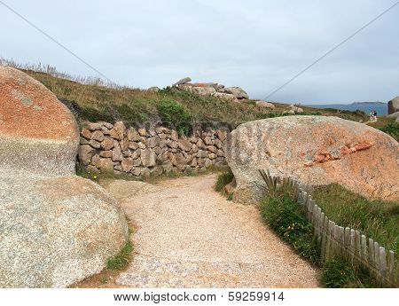 Footpath Around Perros-guirec
