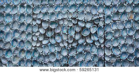 Paua Shell Wall