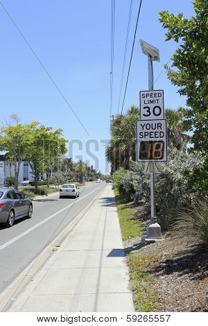 Radar Speed Display Sign