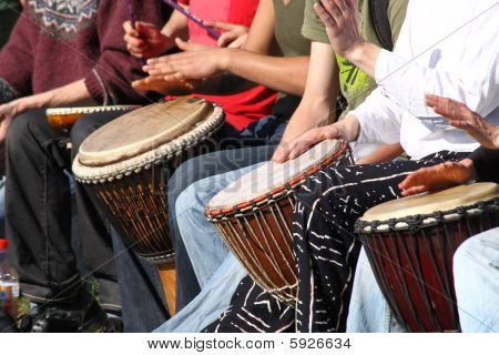 Bongo Drummers