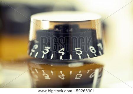 Volume button (music knob)