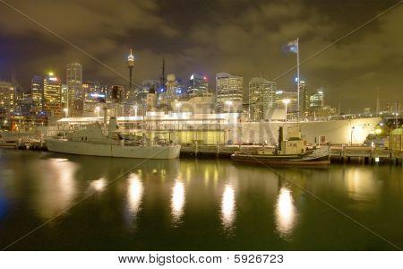 Battleship HMAS Vampire