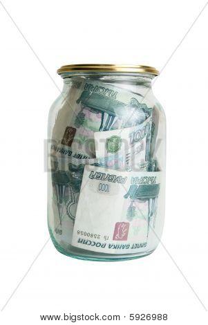 Dinheiro no pote