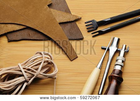 Leather craft tool
