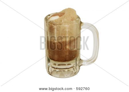 Postre Root Beer Float