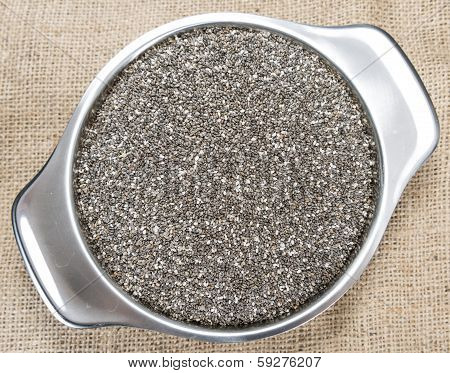 Portion Of Chia Seeds