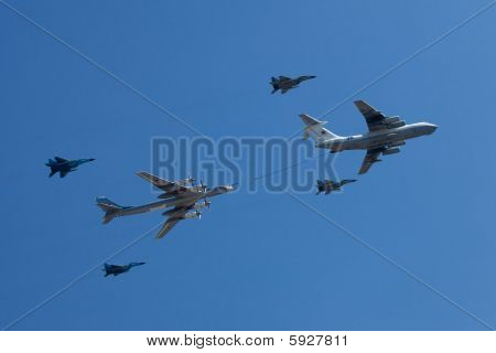 Airplanes In The Skies