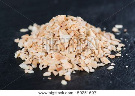 Heap Of Kibbled Garlic