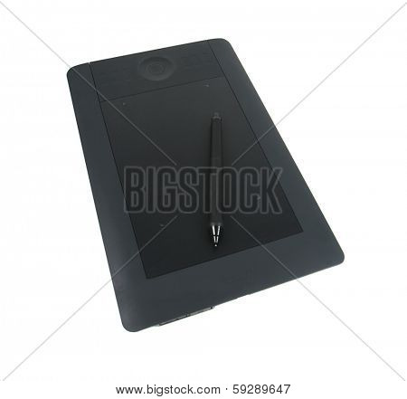 BOISE, ID - JANUARY 31, 2014: The Wacom Intuos pen and graphics tablet