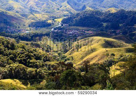 Mountain Landscape In Brazil