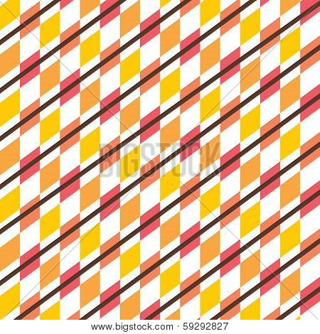 illustration of creative square pattern vector