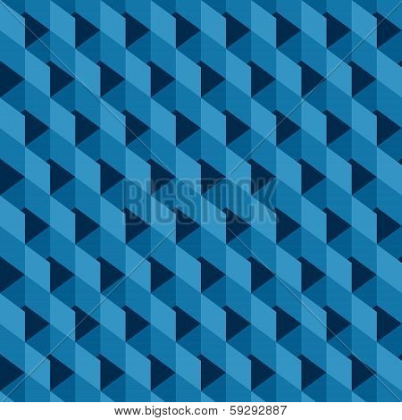 blue square block pattern background stock vector
