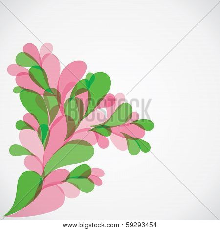 colorful flora background