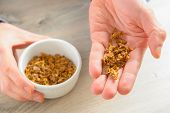 stock photo of mixture  - Natural propolis - JPG