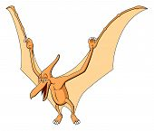 picture of pteranodon  - Illustration of Pteranodon for children - JPG