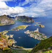 stock photo of lofoten  - Lofoten island - JPG