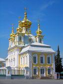 Постер, плакат: Церковь большого дворца Петергоф Россия