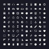 picture of universal sign  - 100 vector universal icons - JPG