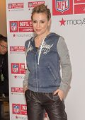 NEW YORK-FEB 1: Actress Alyssa Milano promotes