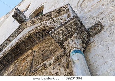 Basilica Church of St. Nicola. Bari. Puglia. Italy.