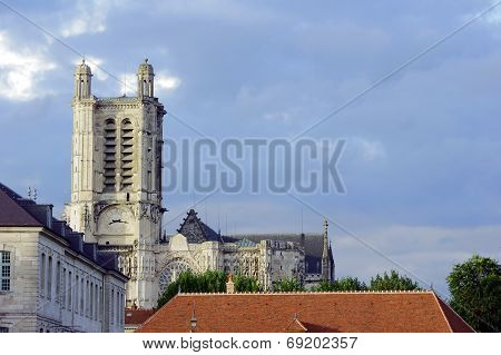gothic Cathedral Troyes