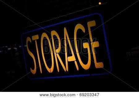 Neon Sign Storage
