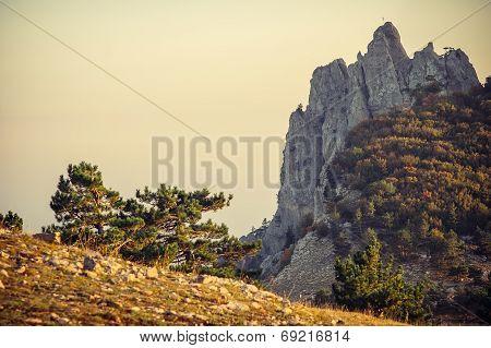 Rocky Mountains Ai-Petri Landscape Beautiful