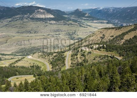 View Along Chief Joseph Scenic Byway