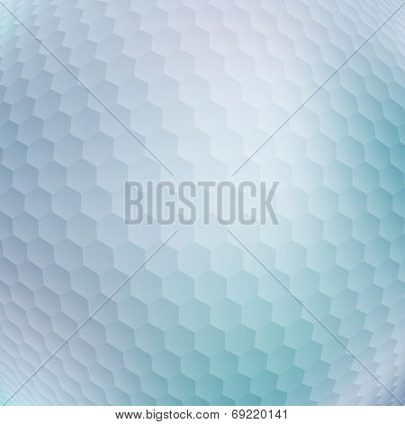 Abstract Background With Honeycomb Pattern For Your Design