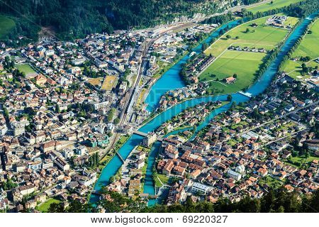 Interlaken Town, Switzerland