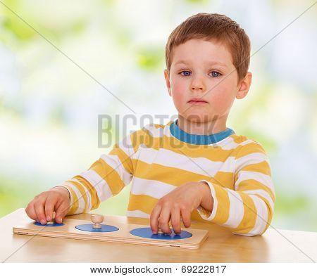 Boy Working