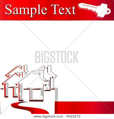 House and Key Sample Text