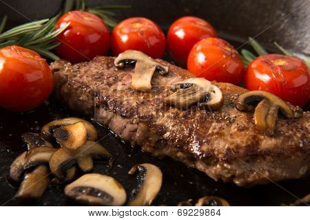Grilling Strip Loin Steak Series: The Steak Is Ready