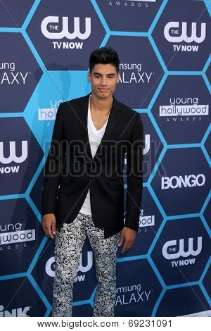 LOS ANGELES - JUL 27:  Siva Kaneswaran at the 2014 Young Hollywood Awards  at the Wiltern Theater on July 27, 2014 in Los Angeles, CA