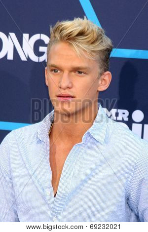 LOS ANGELES - JUL 27:  Cody Simpson at the 2014 Young Hollywood Awards  at the Wiltern Theater on July 27, 2014 in Los Angeles, CA