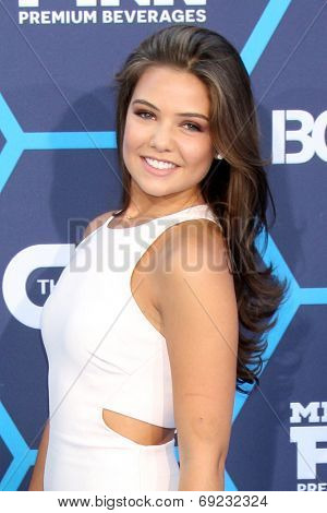 LOS ANGELES - JUL 27:  Danielle Campbell at the 2014 Young Hollywood Awards  at the Wiltern Theater on July 27, 2014 in Los Angeles, CA