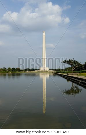 San Jacinto Monument Reflections