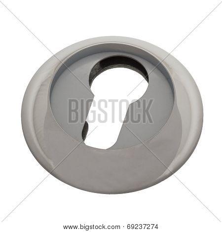 Keyhole cap