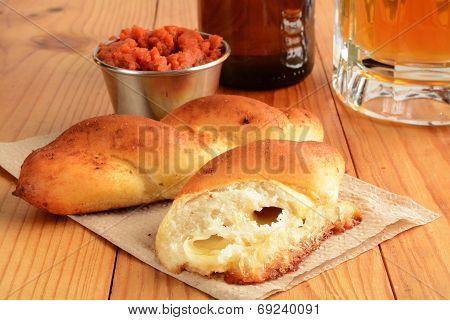 Mozzarella Bread Sticks
