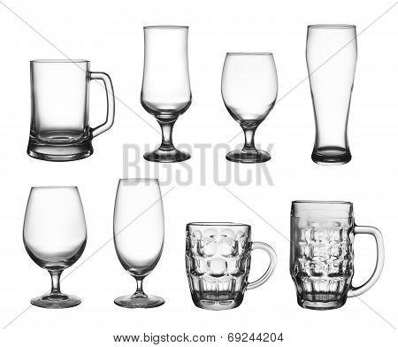 Set Of Beer Cup Glasses