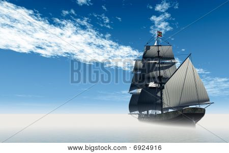 Square Rig Sailing Ship