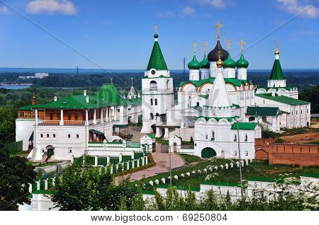 Russian Monastery in Summer