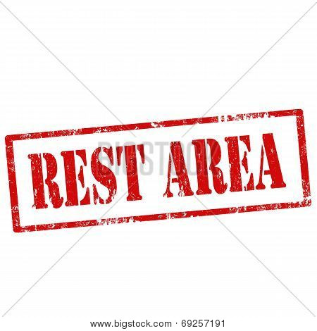 Rest Area-stamp