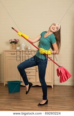 Maid and household chores