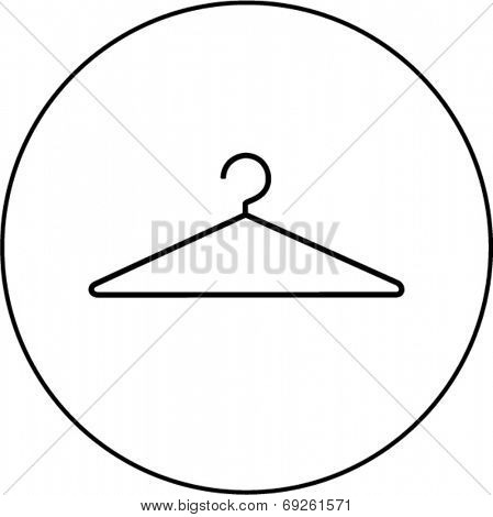 wire clothes hanger symbol