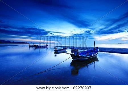Thung Wua Laen Beach Amphoe Pathiu, Chumphon Thailand.